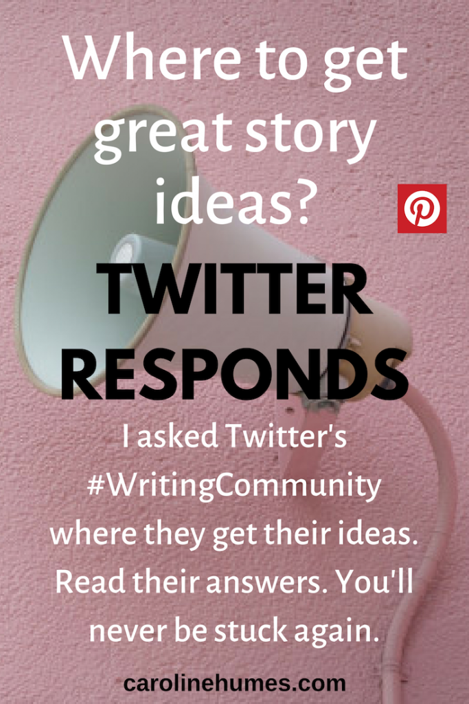 Where to get great story ideas? Twitter responds.